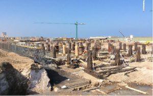 FOTO NOTA 3 - EL NUEVO HOSPITAL YA ESTÁ EN CONSTRUCCIÓN